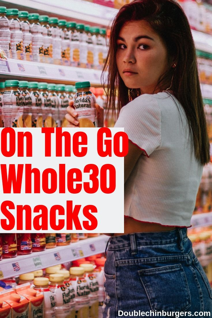On The Go Whole 30 Snacks images