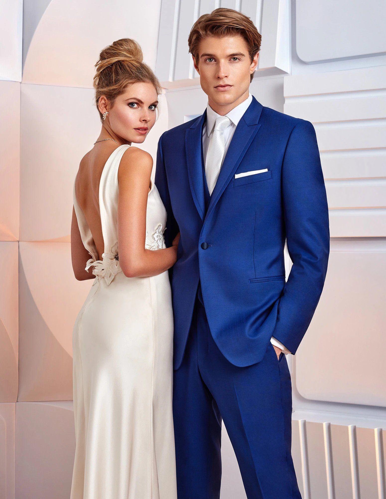 Greenwich Tuxedo Cobalt Blue in 2020 Blue tuxedos, Prom