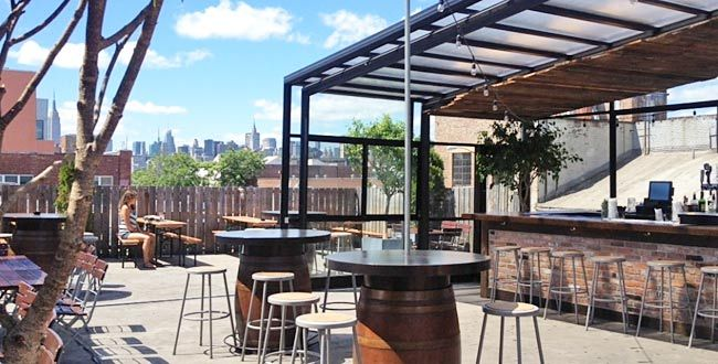 New York S 10 Best Rooftop Happy Hours With Images Rooftop Terrace Terrace Design Cool Bars