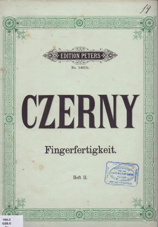 Czerny Carl Fingerfertigkeit Op 740 Heft Ii Para Piano Partituras Piano Partituras Libros
