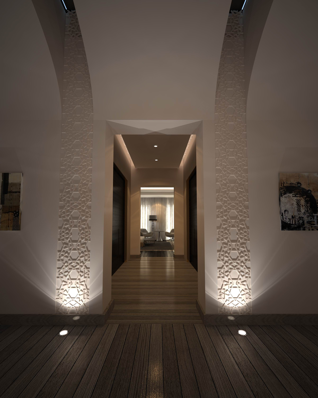 Modern Islamic Interior Design On Behance: Moroccan Modern