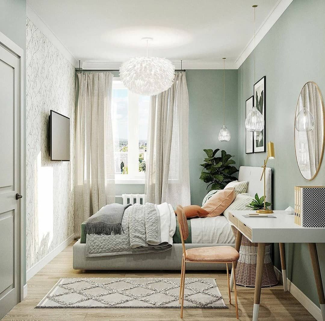 46 Small Bedroom Ideas To Fall In Love With In 2020 Small