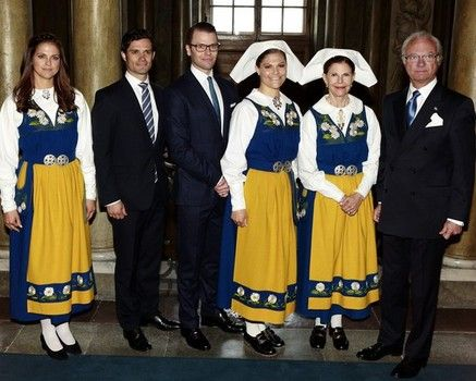 Swedish Royals celebrate National Day Credit: Christopher Hunt/Getty Images