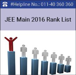 JEE Main 2016 Rank List / Rank card to be announced by CBSE on June 23