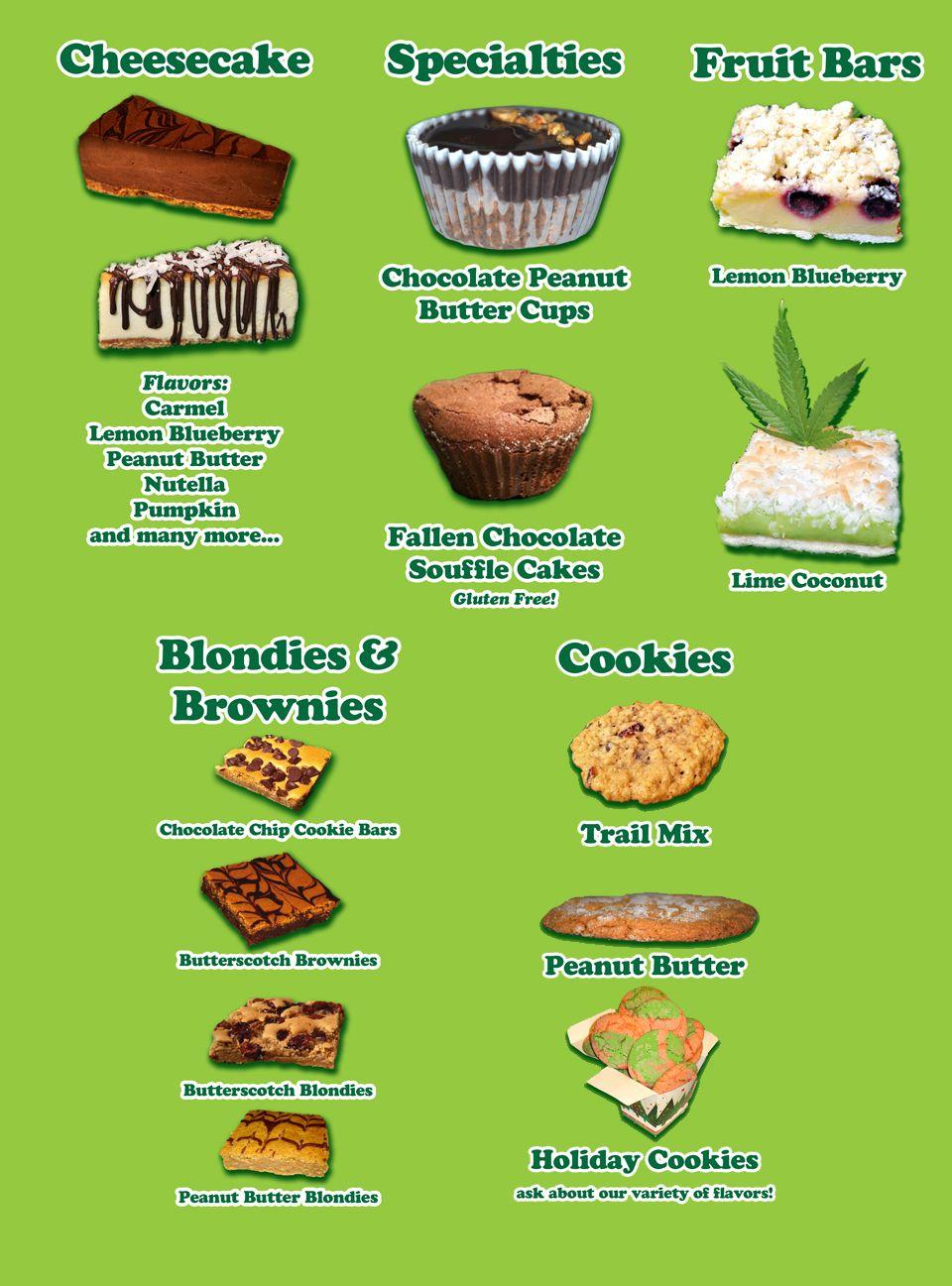 Baked inc menu baking menu