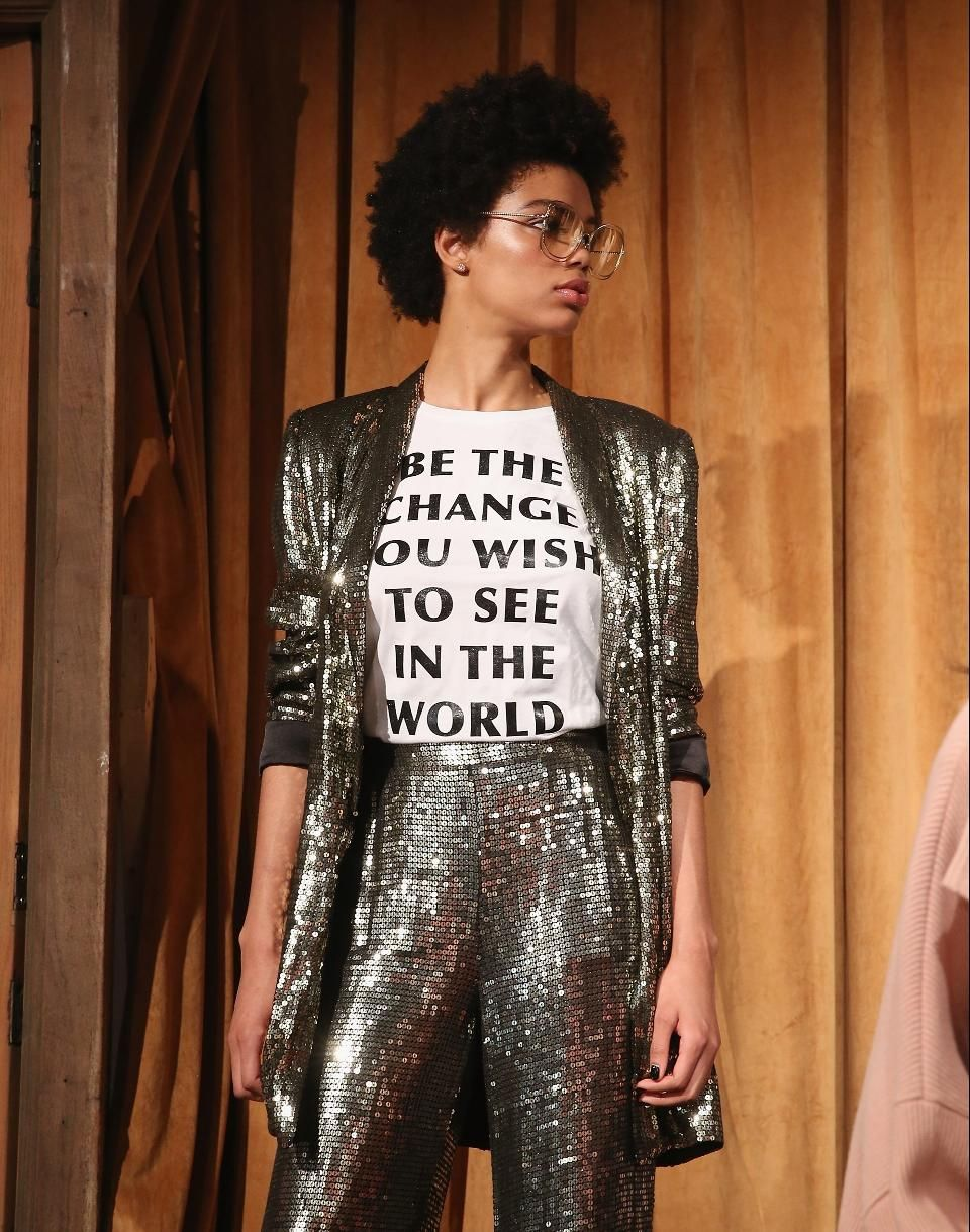 Designers Who Made Political Statements At New York Fashion Week 2017 With Images Fashion New York Fashion Week 2017 Fashion Week