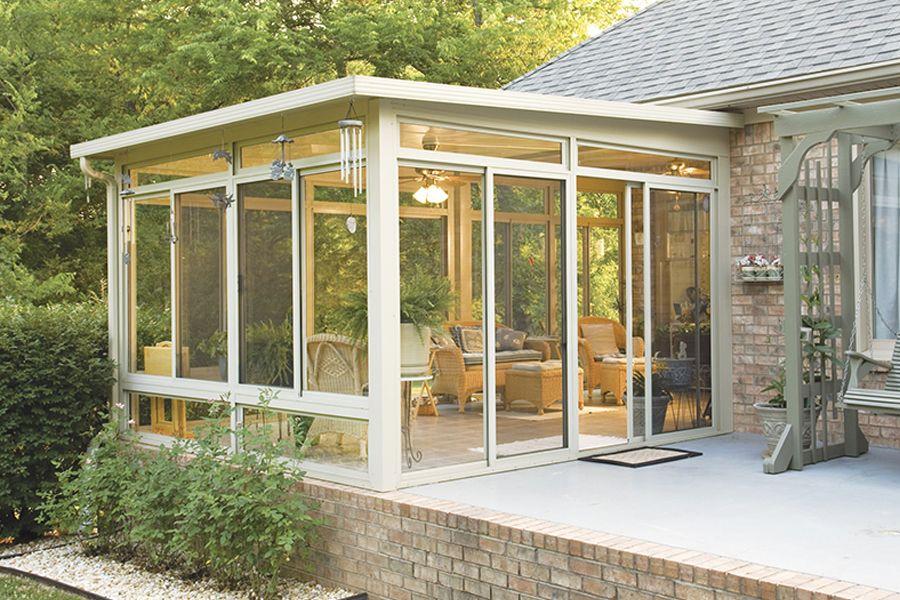 Beautiful Three Season Porch At Home Extravagant Porch And