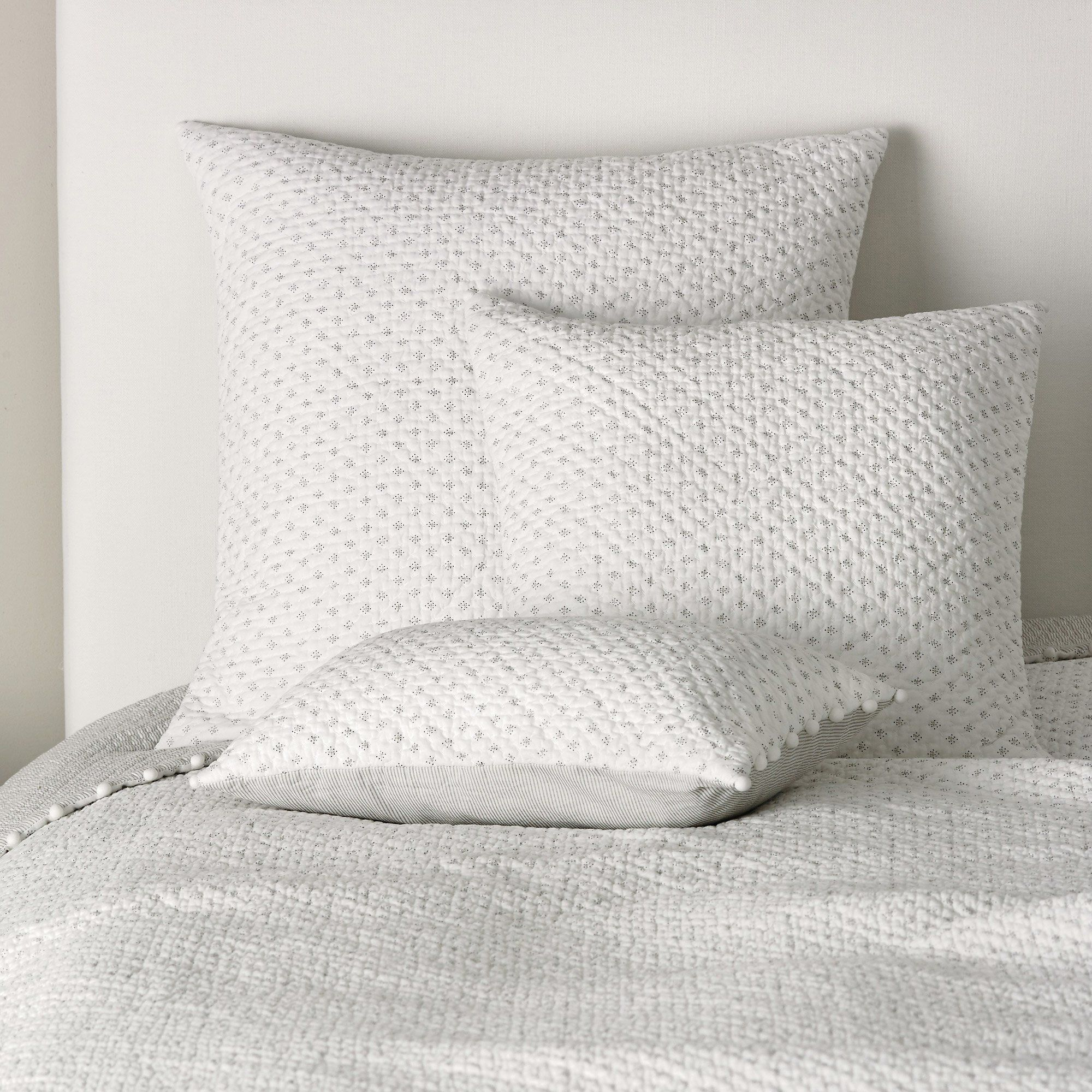 Brittany Quilts Cushion Covers Bed Cushions Bedspreads Throws The White Company