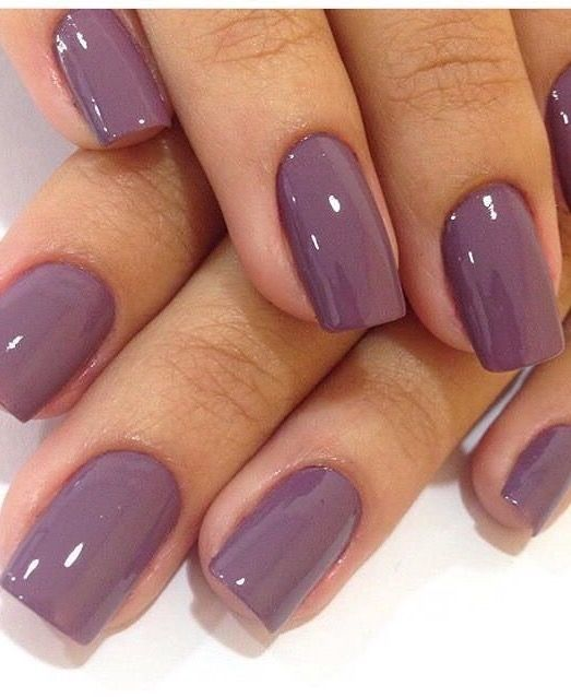 Beautiful winter nails, Business nails, Christmas nails, Delicate nails,  Everyday nails, Ideas of gentle nails, Ideas of plain nails, Plain nails - Nail Art #2865 - Best Nail Art Designs Gallery The Beautiful World