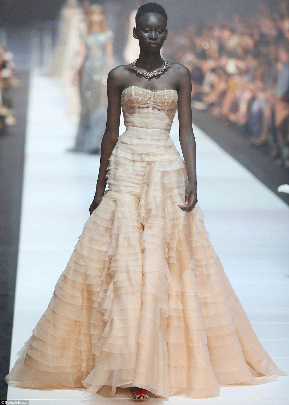 Bridal trends on the J\'Aton Couture runway at VAMFF | Couture ...