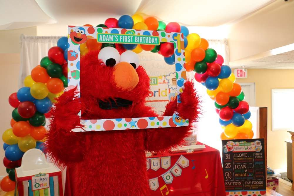 Elmo Birthday Party See More Ideas At CatchMyParty