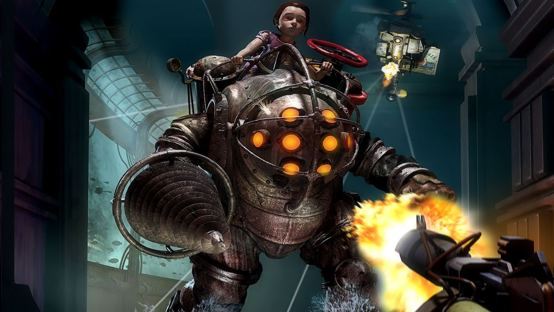 Big Daddy Bioshock Bioshock Bioshock Game Bioshock Collection