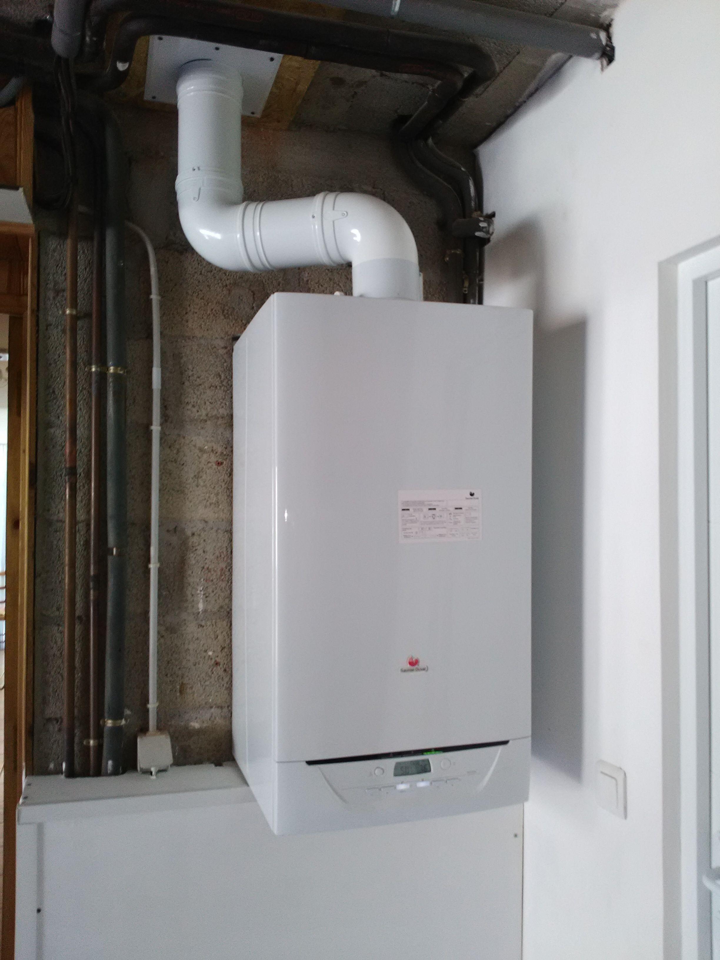 Installation Chaudière À Condensation installation d'une chaudière à condensation isotwin saunier