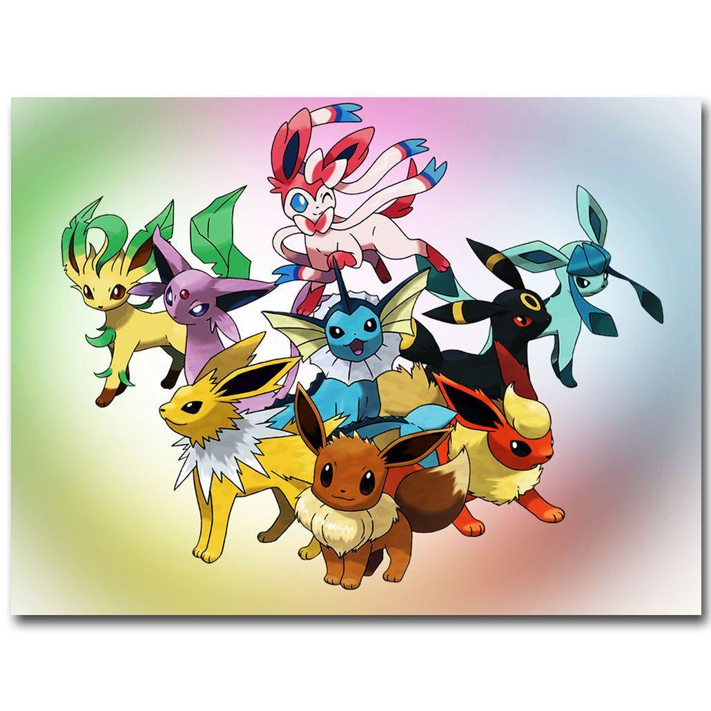 564 art sylveon eevee pokemon pocket monster anime
