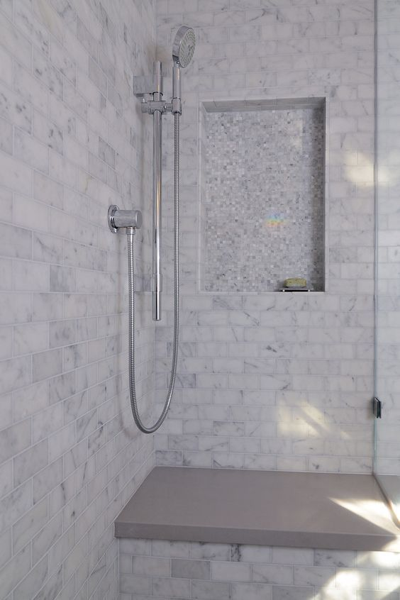 Beautiful Bathrooms With Carrera Marble shower designs carrera white carrera marble bathing beauty modern