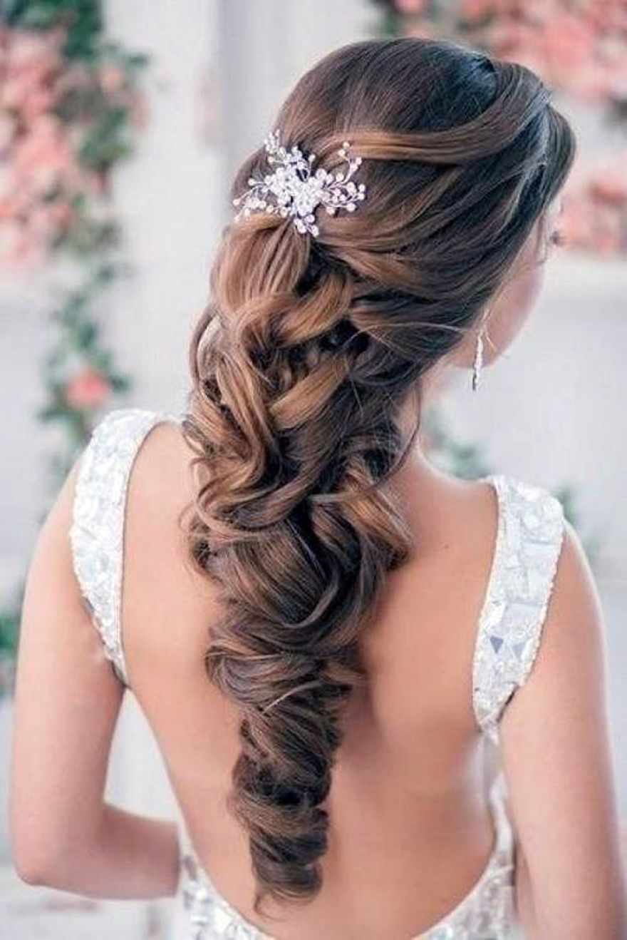 Fabulous 1000 Images About Bride39S Hair On Pinterest Bridal Hair Short Hairstyles Gunalazisus