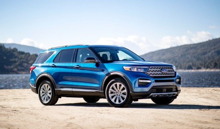 2020 Ford Explorer Hybrid Delivers Towing Power And 500 Miles Per Tank Ford Explorer Hybrid Ford Explorer 2020 Ford Explorer