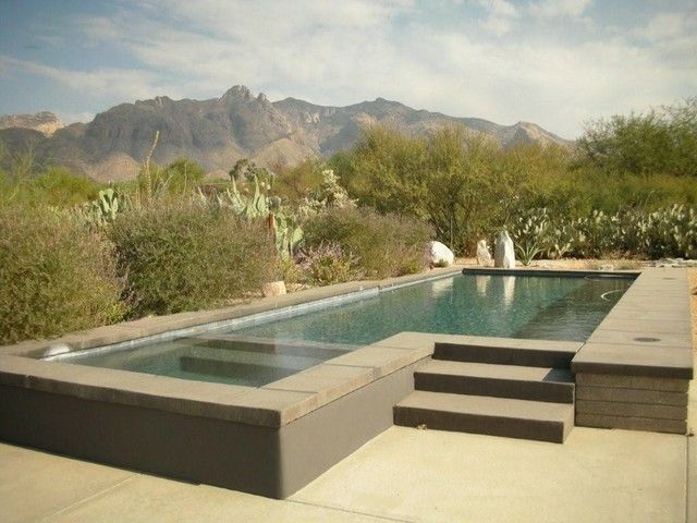 Piscinas de dise o moderno 75 ideas fabulosas jacuzzi for Diseno de piscinas con jacuzzi
