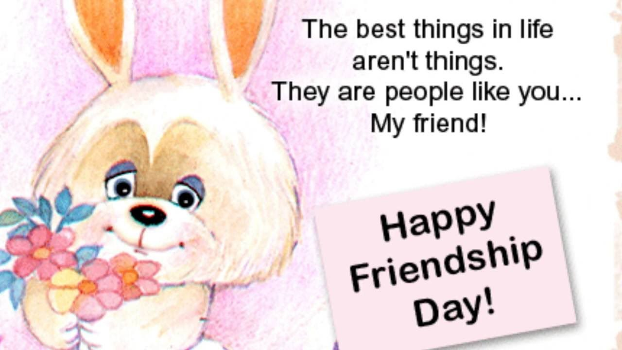 Friendship Day Greeting Name With Messages Mixed Fixed Pinterest