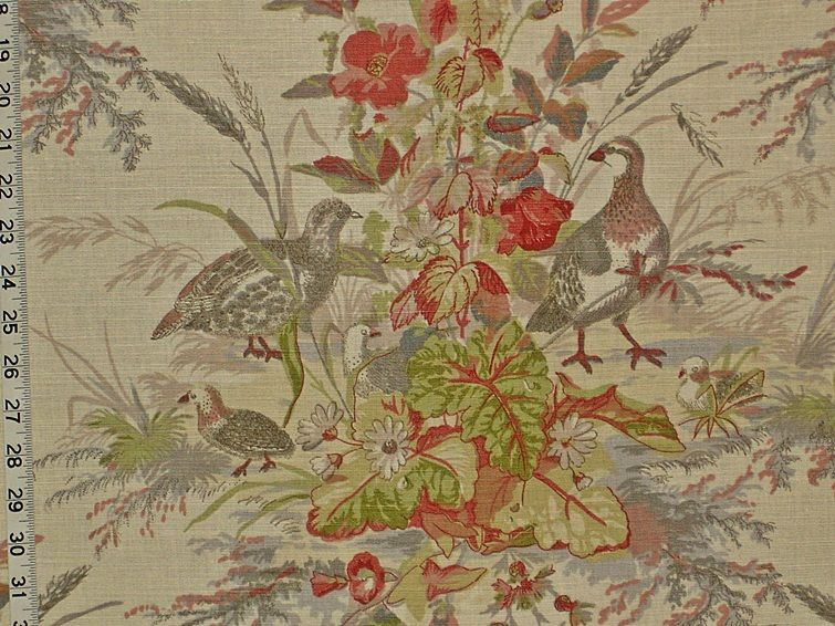 Linens & Textiles (1930-now) Curtains & Drapes Cheap Sale Vintage Country Pastoral Novelty Cotton Fabric Curtains Horses Dogs Houses Trees Fashionable Patterns