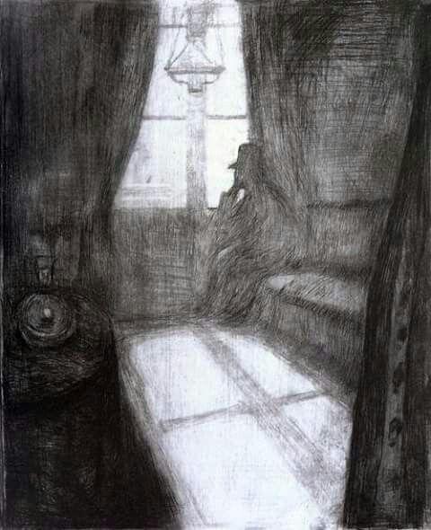Edvard Munch, Moonlight, 1895.