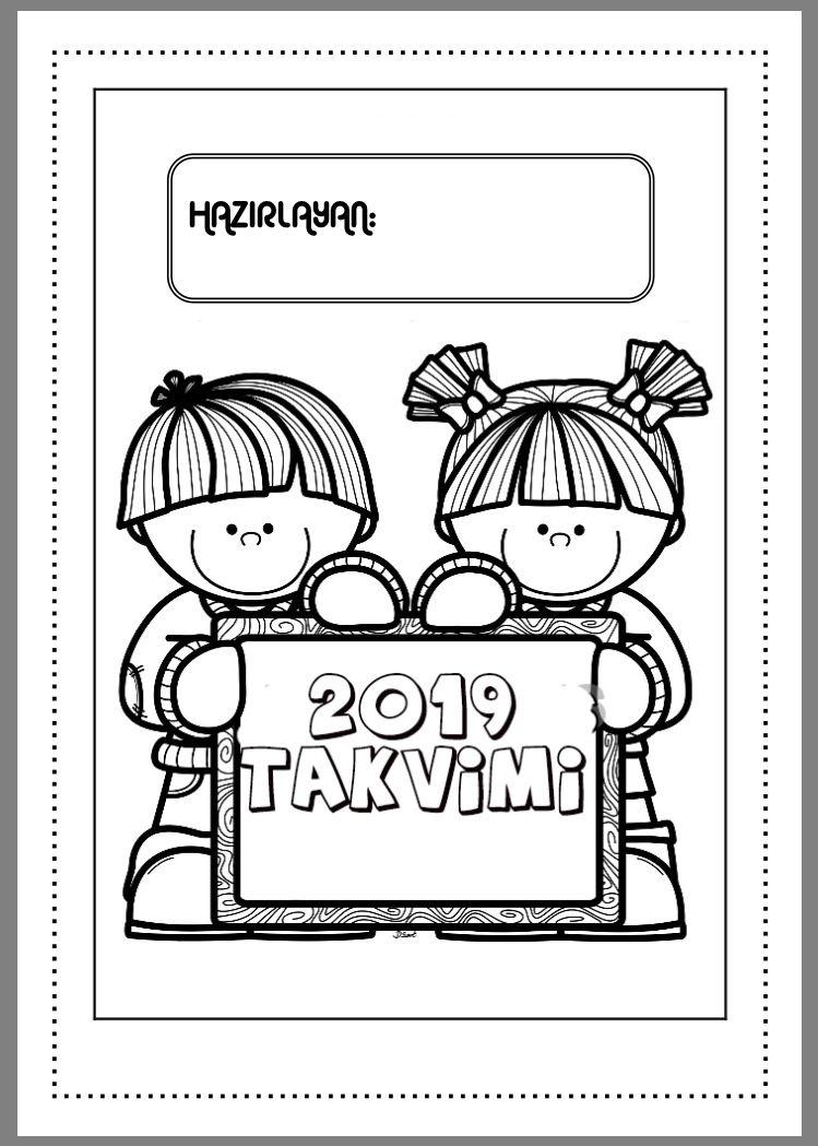 2019 Takvimi Cigdem Ogretmen Okul Oncesi