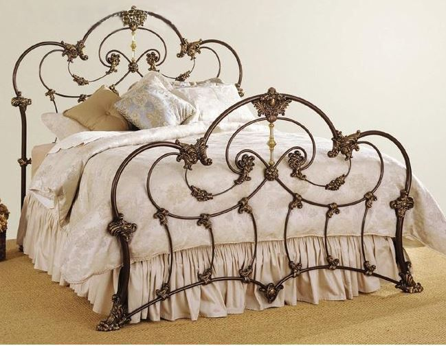 Gold Wrought Iron Bed Iron Bed Frame Cast Iron Bed Frame Wrought Iron Beds