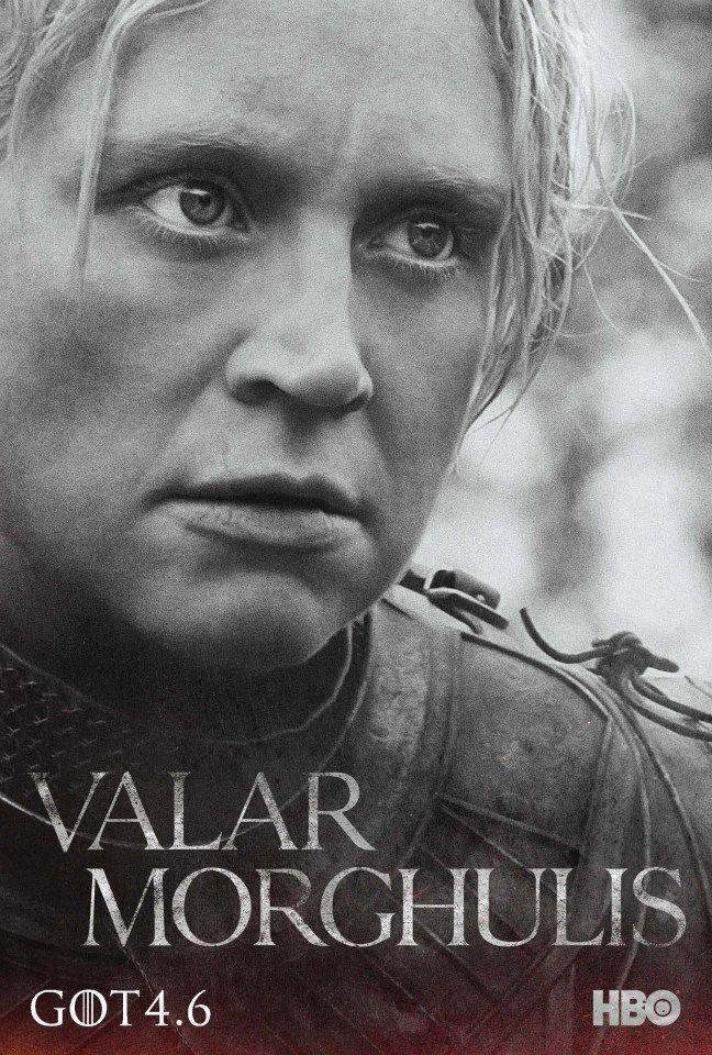 Game Of Thrones Season 4 Poster Brienne Of Tarth Gwendoline