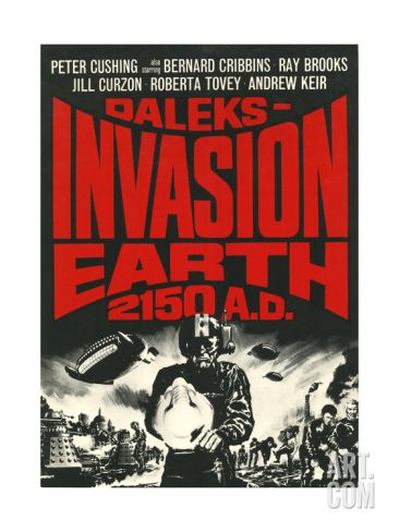 Daleks' Invasion Earth: 2150 A.D. Poster at Art.co.uk