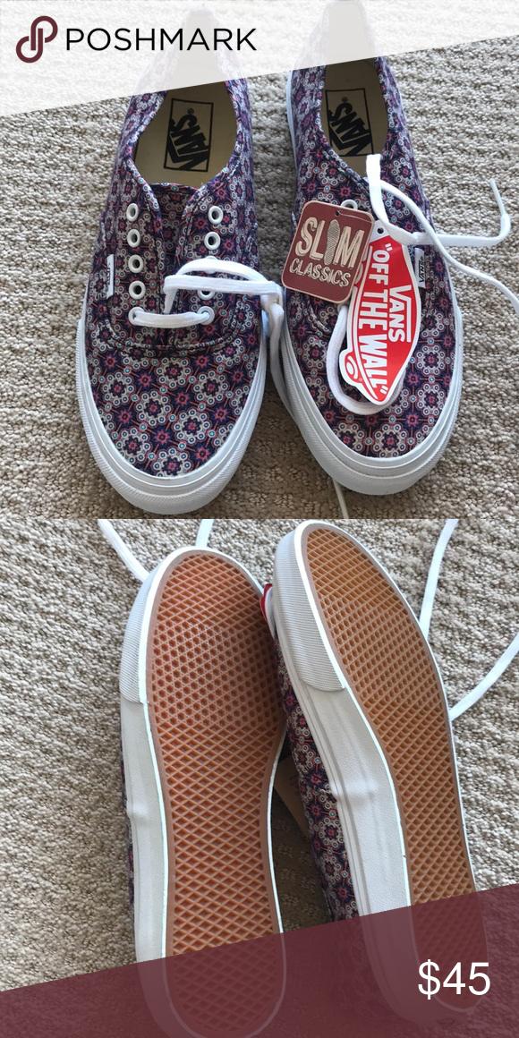 7cc3d9494c Brand new flowery vans Brand new flowery vans Vans Shoes Sneakers ...
