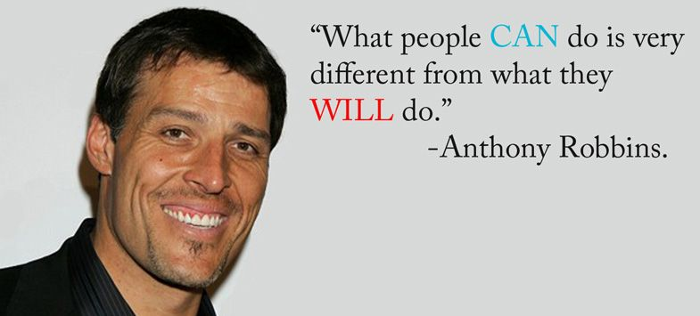 Tony Robbins Quotes 15 Ways To Embrace Your Unlimited Power