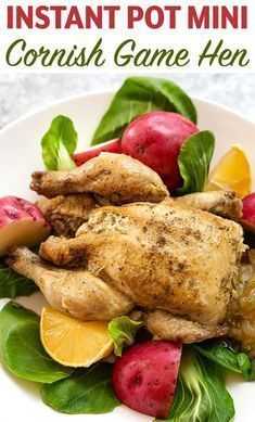 Much Like A Rotisserie Chicken Instant Pot Mini Cornish Game Hen Cooked In The 3 Healthy