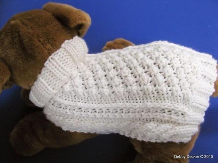 Celtic Doggie Garden Path Dog Sweater | Craftsy | Knitting ...