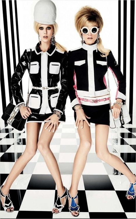 #Vogue Japan March 2013 #Hanne Gaby Odiele  Juliana Schurig on We Heart It. http://weheartit.com/entry/71224692/via/gjb215