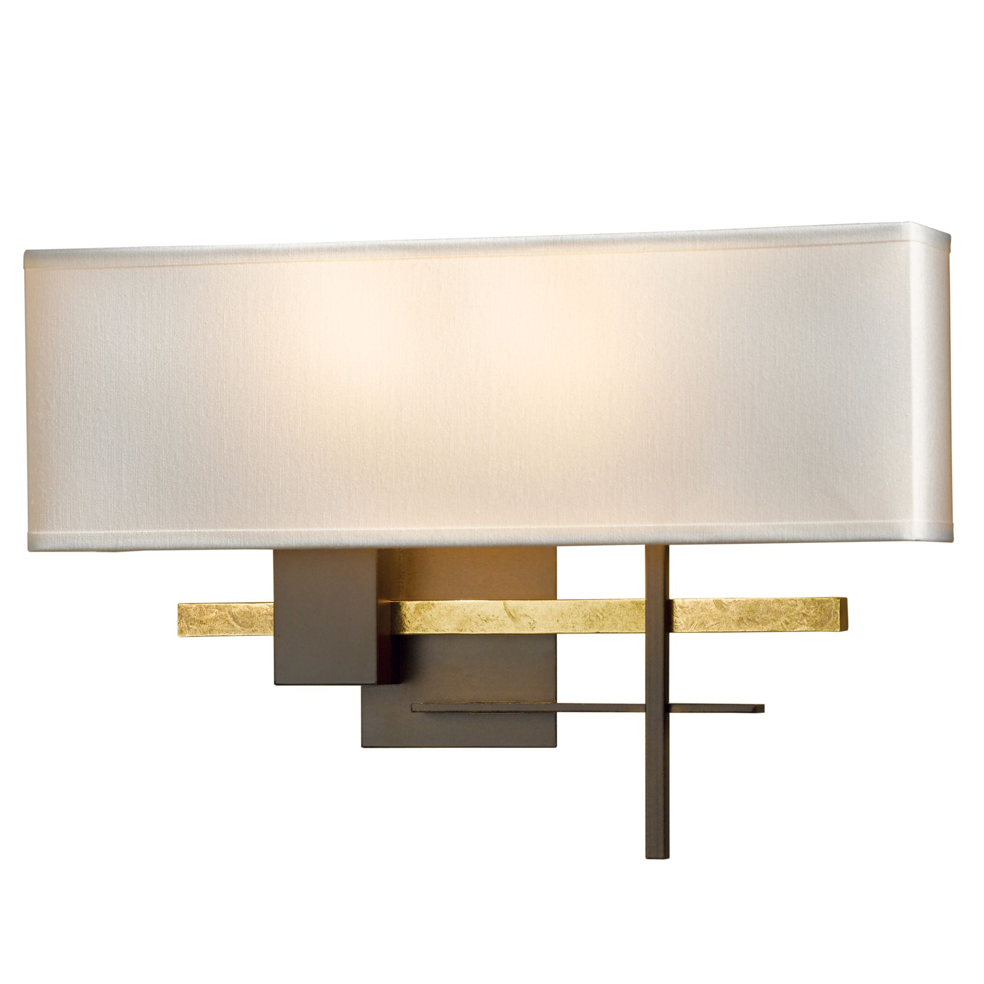 Cosmo Wall Sconce Features Eclipse Doeskin Suede Natural Anna Flax Or Terra Suede Shades With Black Dark Smoke Or Bronze Wall Sconce Sconces Wall Sconces