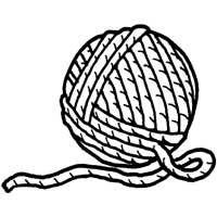 yarn Coloring Pages | You Might Also Like These Coloring ...