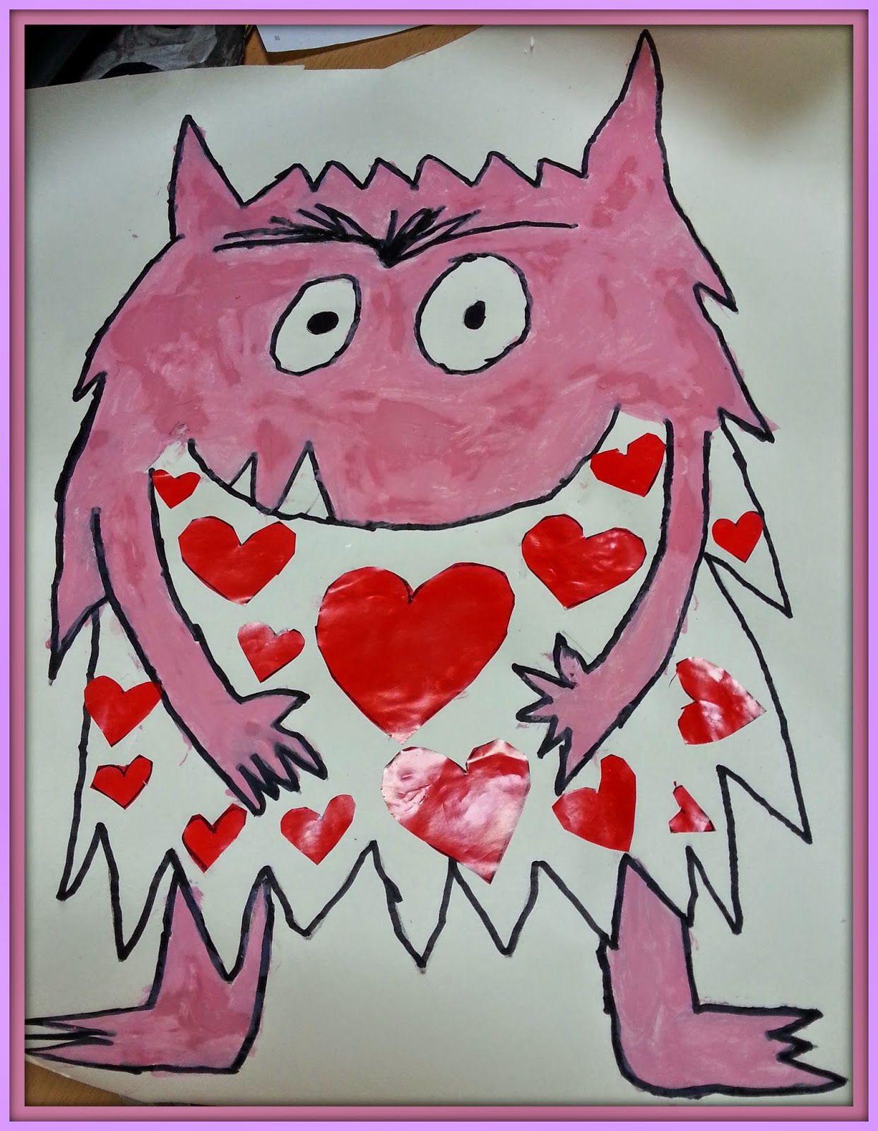 Pintando sonrisas de colores: El monstruo de colores. Siento amor cuando.