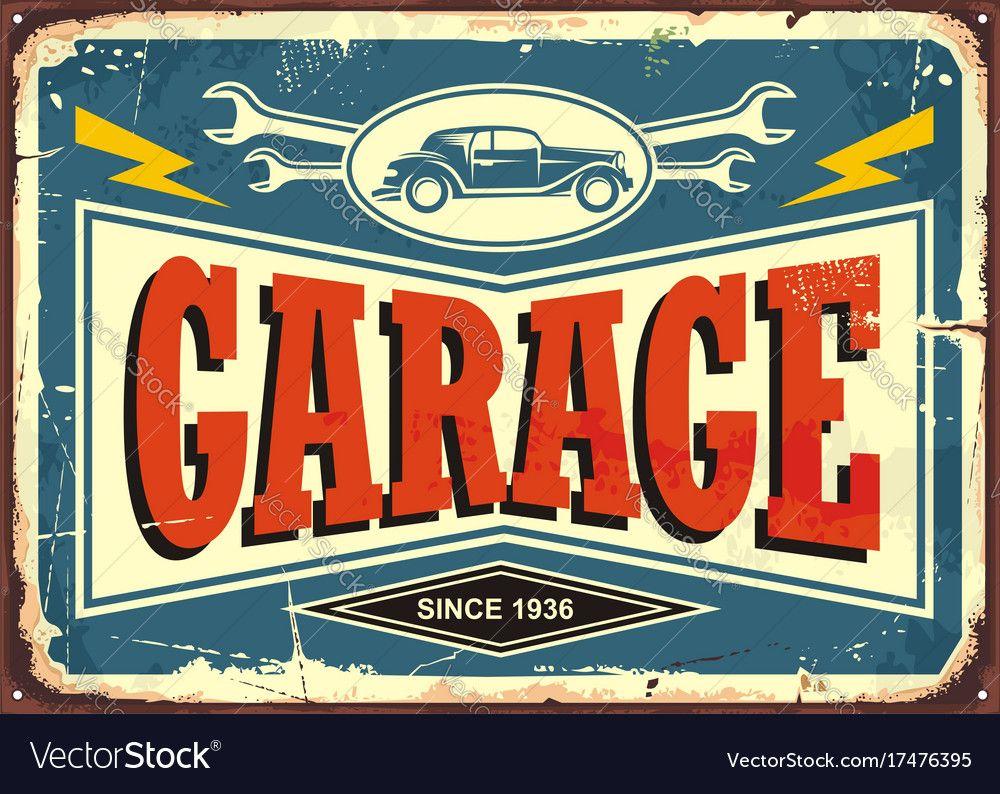 MERCEDES BENZ Service Retro Reproduction Garage Sign