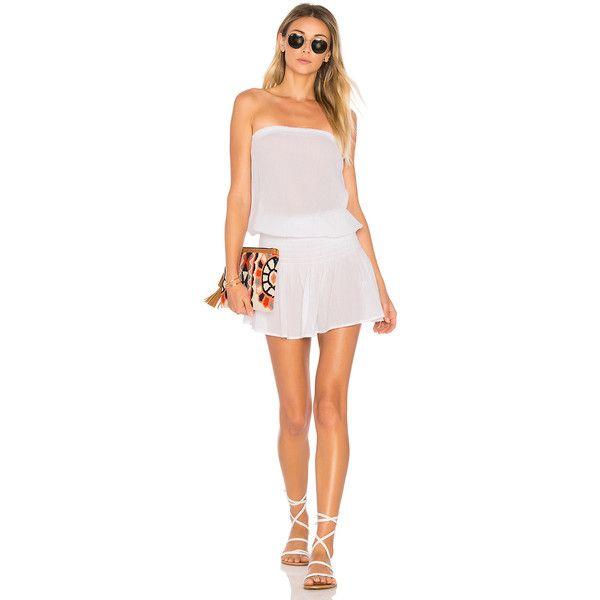5401de31ad5a Bobi Gauze Strapless Dress ($79) ❤ liked on Polyvore featuring dresses,  braid dress, smocked strapless dress, gauze dress, strapless dress and  smocked ...