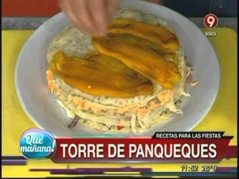 Torre de panqueques de ariel rodriguez palacios 2 for Cocina 9 ariel rodriguez palacios pollo relleno
