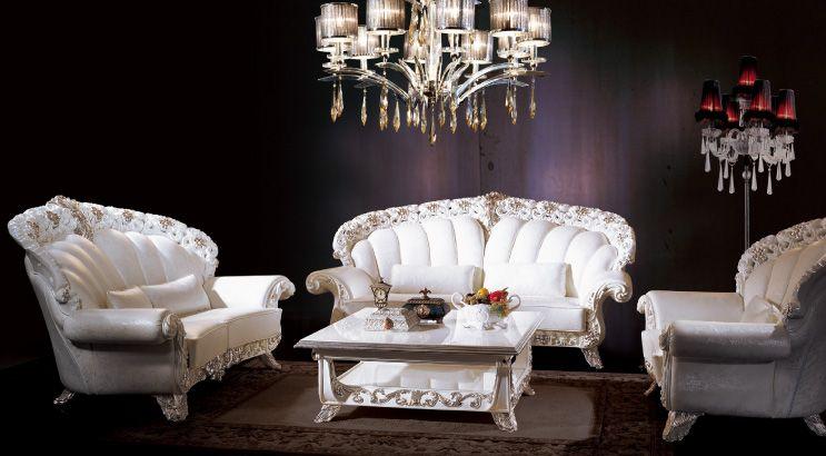 Living Room Furniture Classic Style rhea italian furniture - italian living room furniture sets | for
