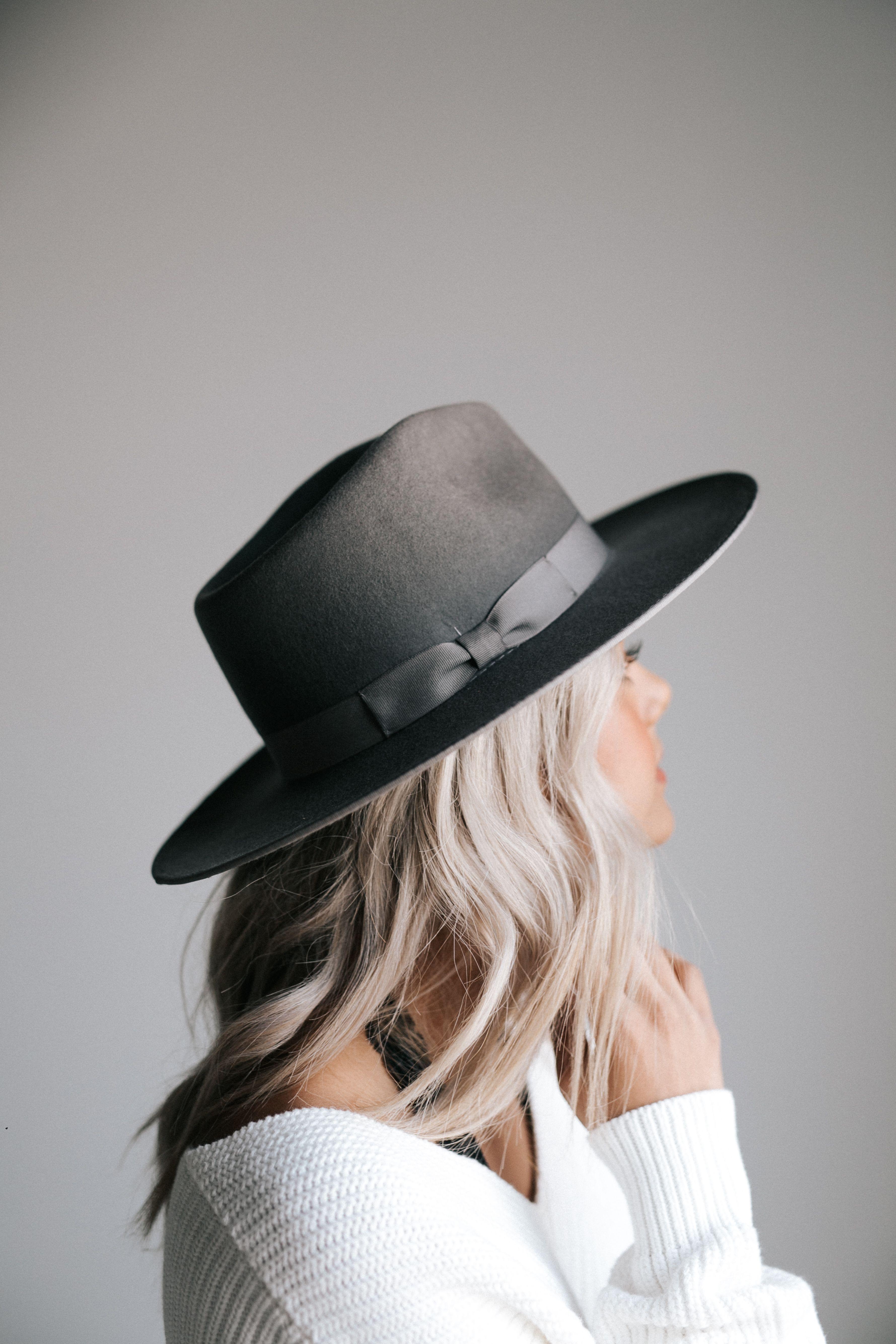 65f1305f Monroe Grey - Women's Rancher Hat in 2019 | felt hats for women ...