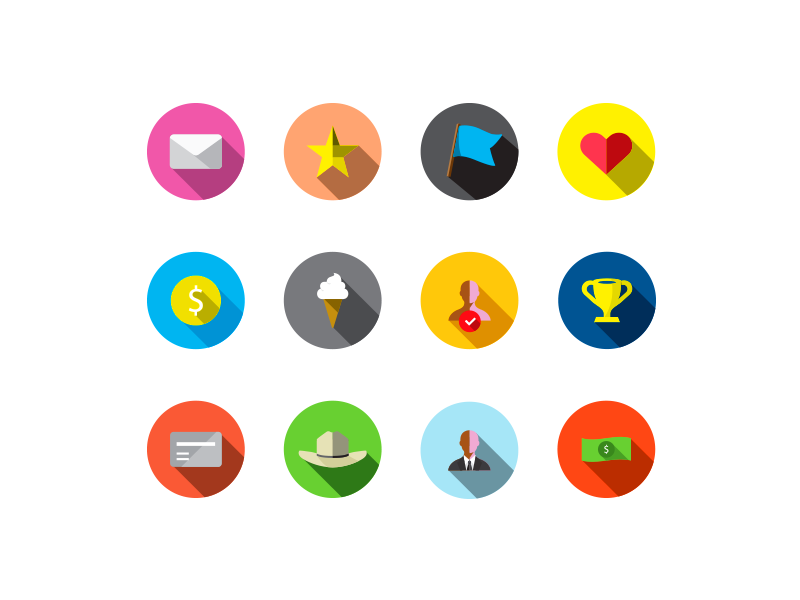 Guava Reward Icons / Free Ai Illustrator File (With images