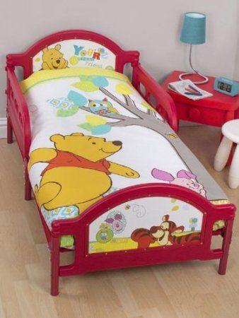 Copripiumino Winnie The Pooh.Duvet Set Winnie The Pooh Forest Junior Panel 4 In 1 Bed Set