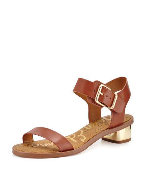 e54d7266774b Sam Edelman: Trina Leather City Sandal | Coming Soon: Shoes ...