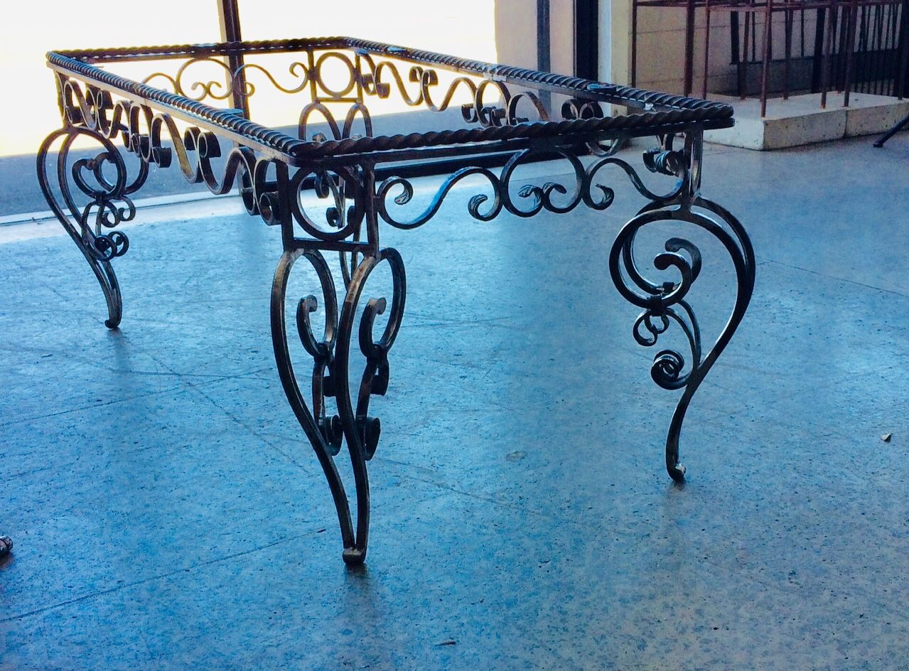 Idea By Irondesign Nz On Tables In 2020 Iron Furniture Wrought