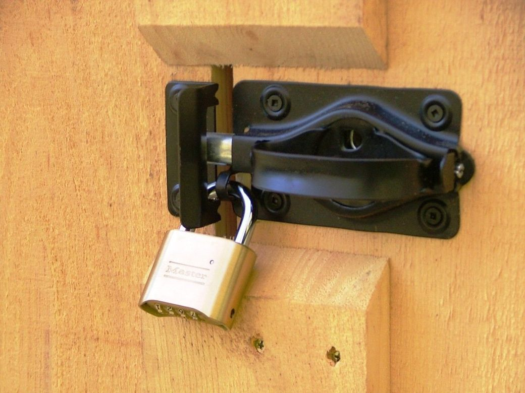 Shed Door Handle | Whitcomb Barn Door Latch | Fence Gate Latch