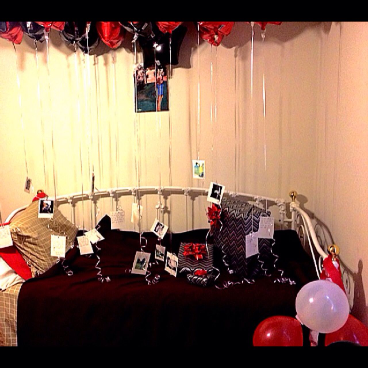 18th Birthday Surprise For My Boyfriend Follow Pinterest Vickileandro Presents