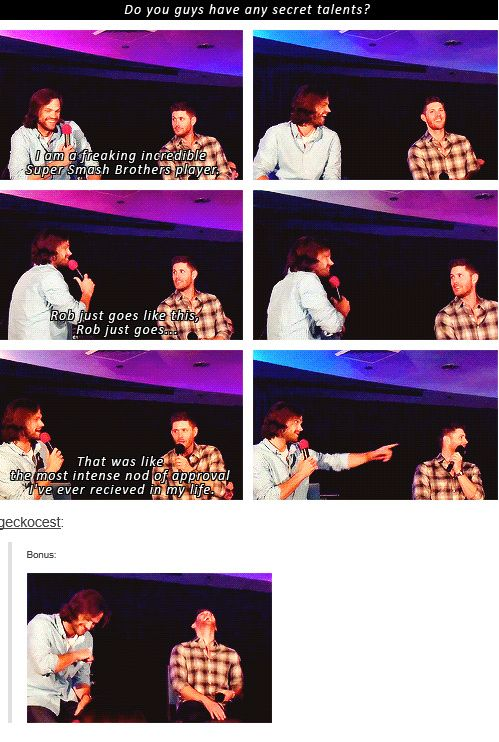 Nod Of Approval Gif : approval, Nerdfighter, Supernatural, Interview,, Funny,