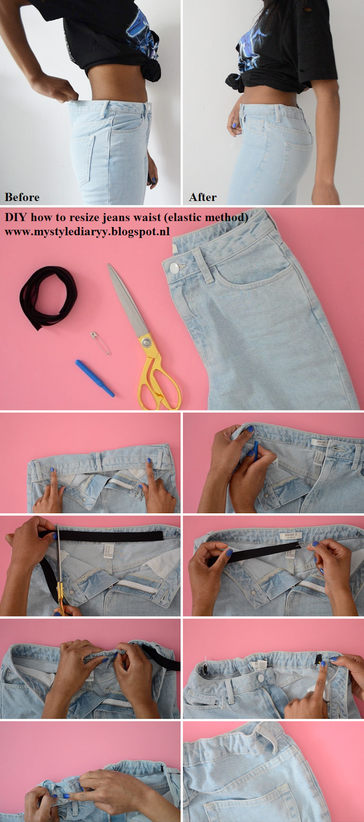 Jeans Take Fix Quick Resize In How Your To Waist kXPuiwTOZ
